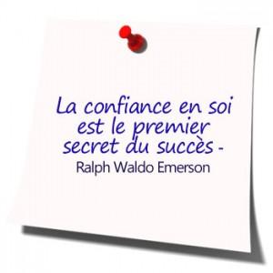 Qu'est-ce que la confiance en soi ?