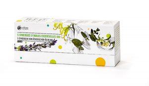 Coffret 5 synergies huiles essentielles Nature & Découvertes