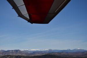 Comment apercevoir les premières neiges en ULM pendulaire ?