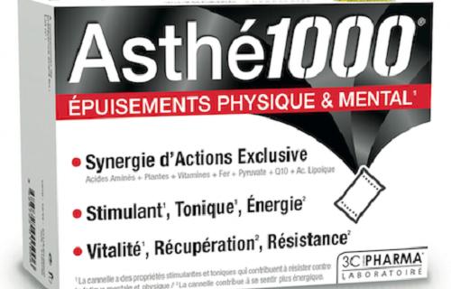 RETROUVEZ VOTRE VITALITÉ avec Asthé 1000® !