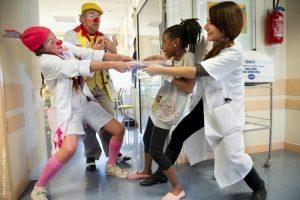 Le Rire Médecin. S'amuser à l'hôpital, c'est vital.