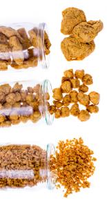 MARKAL, Protéines de soja bio petits morceaux. Les alternatives VEGAN à la viande