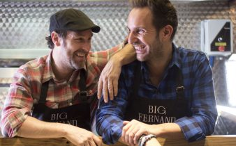 Big Fernand & Christophe Michalak soutiennent Gustave Roussy, 1er centre européen de lutte contre le cancer.