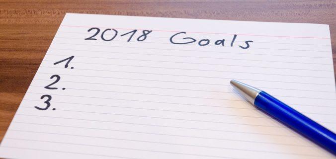 Les bonnes résolutions des Français pour 2018.