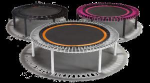 Le mini trampoline premium & breveté au service du bien-être & de la santé.