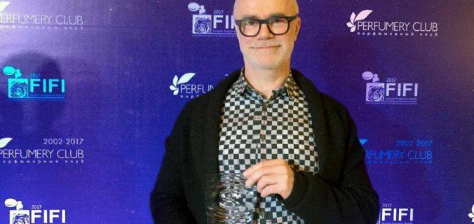 TECHNICOFLOR : Bertrand Duchaufour, élu Parfumeur de l'année aux FIFI RUSSIAN AWARDS 2017.