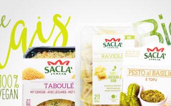 Saclà rentre dans les rayons frais Bio et Vegan.