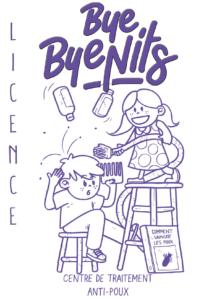 ByeByeNits, centre de traitement anti-poux.