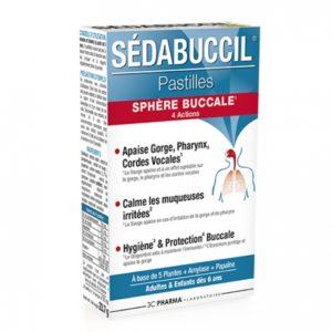 Sédabuccil®, la solution contre les maux de gorge.