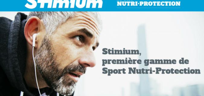 Stimium, première gamme de Sport Nutri-Protection.