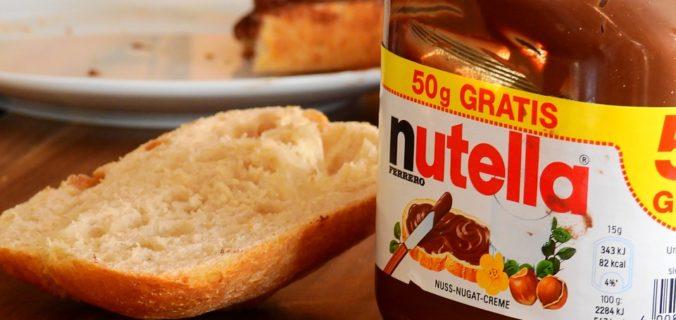 Nutella contient des ingrédients officiellement liés au cancer.