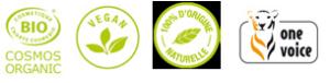 Les colorations Bio 100% végétales.