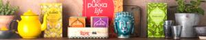 Le monde unique des thés et infusions Ayurvédiques Pukka Herbs.