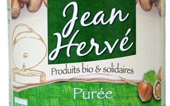 Purée de noisettes Jean Hervé : la botte secrète de tous les plaisirs végétariens.