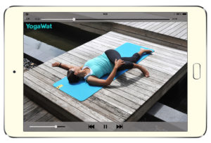 Avec l'application YogaWat, le yoga à portée de main !