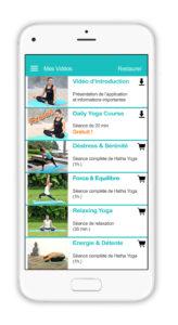 Avec l'application YogaWat, le yoga à portée de main!
