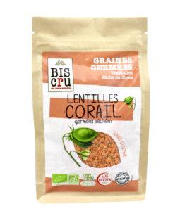Nouveauté : les graines germées bio mono-ingrédients !