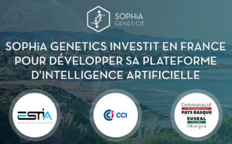 SOPHiA GENETICS investit en France pour développer sa plateforme d'Intelligence Artificielle.