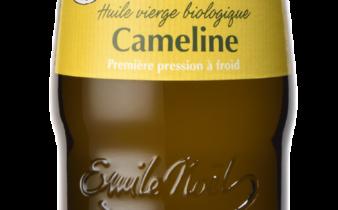 BIO : l'Huile de Cameline Emile Noël cultivée et pressée en France.