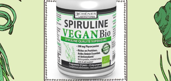 Une Spiruline Vegan et Bio.