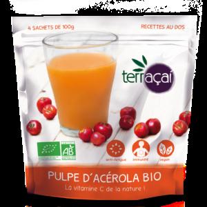 Nossa fruits étoffe sa gamme de produits à base açai bio !