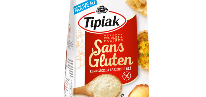Mélange Fécules & Farines Sans Gluten Tipiak.