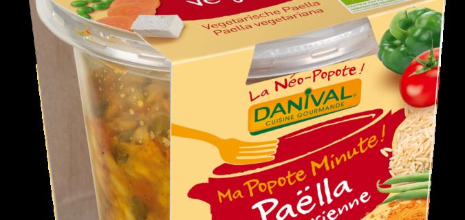"Petits plats bio à emporter partout : ""Ma popote minute"" de Danival."