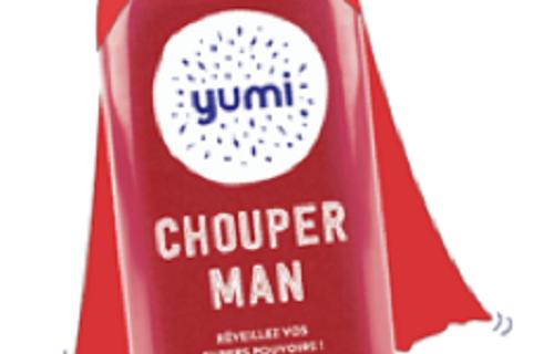 Yumi dévoile son nouveau jus de saison : le Chouperman !