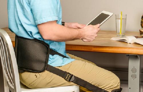 Le 1er dispositif pour lutter contre le mal de dos en position assise.
