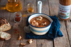 Soupe de Poisson au Saumon Phare d'Eckmühl, saveur et éthique dans l'assiette !