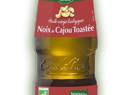 Huiles bio : l'Huile de Noix de Cajou toastée d'Emile Noël, gourmande et créative !