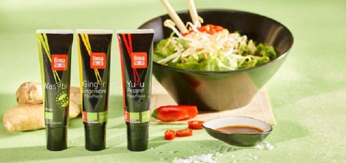 Lima lance de nouveaux condiments japonais pour twister la cuisine végétale.