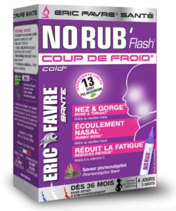 NO RUB FLASH : Le remède naturellement efficace contre le rhume.