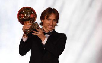 Modric, de l'enfant de la guerre croate au lauréat du Ballon d'Or.