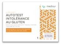 Intolérance au gluten : MEDISUR permet un dépistage rapide et fiable.