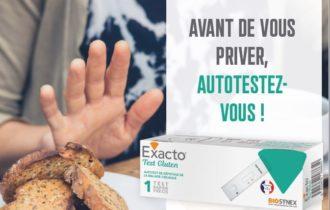 Les autotests HIV et Gluten de la MEDTECH BIOSYNEX.