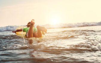 colonie de vacances en mer pour faire apprécier la nature aux enfants.