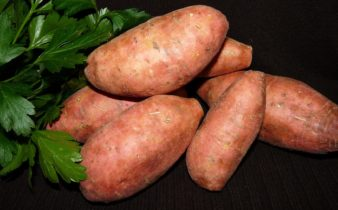 La farine de patate douce