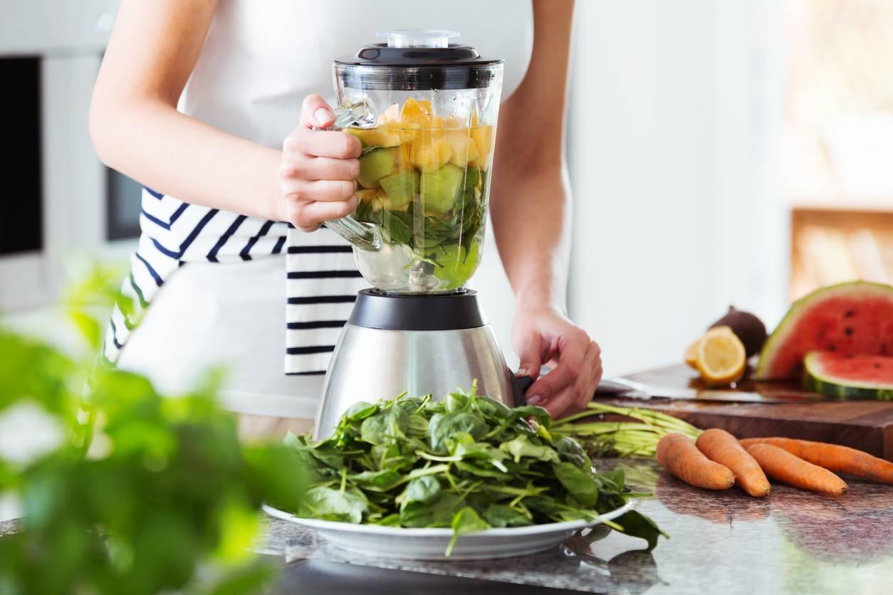 mixer des légumes Testez les jus de légumes à la maison