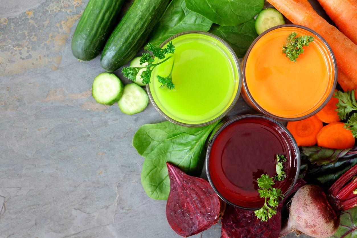jus de légumes Testez les jus de légumes à la maison