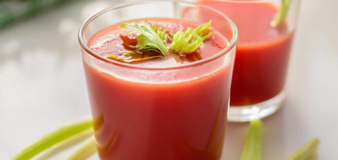 Testez les jus de légumes à la maison