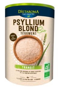 Lutter contre les problèmes digestifs naturellement avec le Psyllium Bio de Diétaroma
