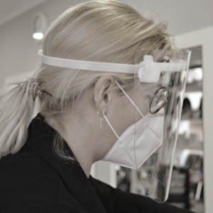 FaceShield V4, un casque à visière pour profiter du déconfinement.