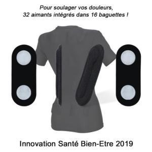 Forever Magnetic invente un T-shirt Magnétique contre le mal de dos