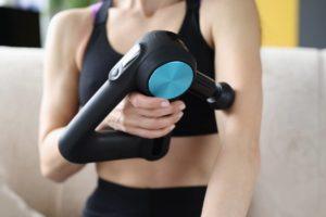 Pistolet de massage theragun efficace