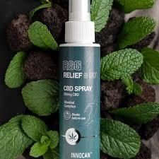 Relief & Go CBD Spray : relaxant musculaire avec effet rapide et durable.